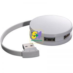 20659 - 4 portos - lekerekített USB Hub