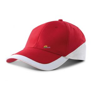 KP045 - RACING - BI-COLOUR 6 PANEL CAP