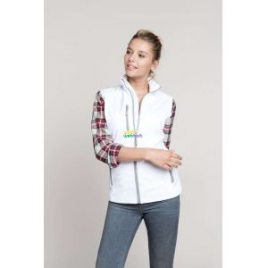 KA404 - LADIES' SOFTSHELL BODYWARMER