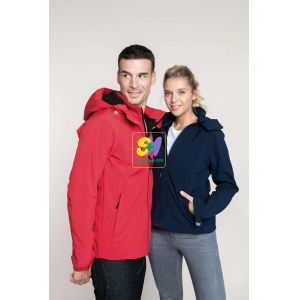 KA413 - MEN'S HOODED SOFTSHELL JACKET