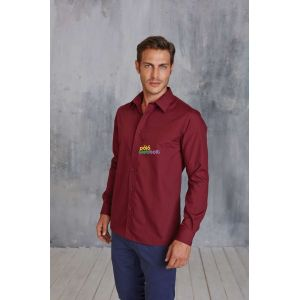 KA545 - JOFREY - MEN'S LONG SLEEVE EASY CARE POLYCOTTON POPLIN SHIRT