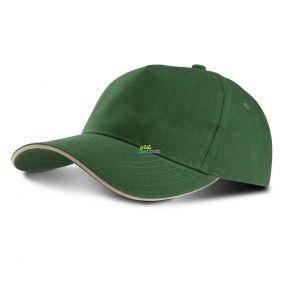 KP124 - SANDWICH PEAK CAP - 5 PANELS