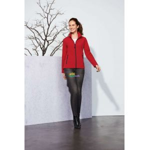 SO01194 - RACE WOMEN SOFTSHELL ZIP JACKET