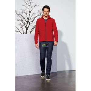 SO01195 - RACE MEN SOFTSHELL ZIP JACKET