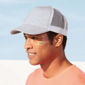 SO01688 - DODGE 5-PANEL HEATHER MESH CAP